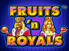Игровой автомат Fruits And Royals в Вулкан Делюкс